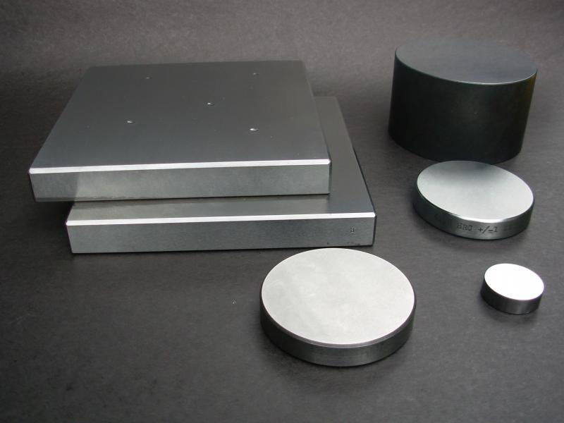 Calibração de bloco padrão