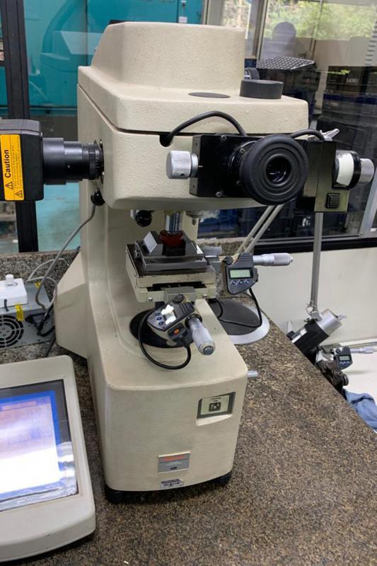 Calibração de microdurometros