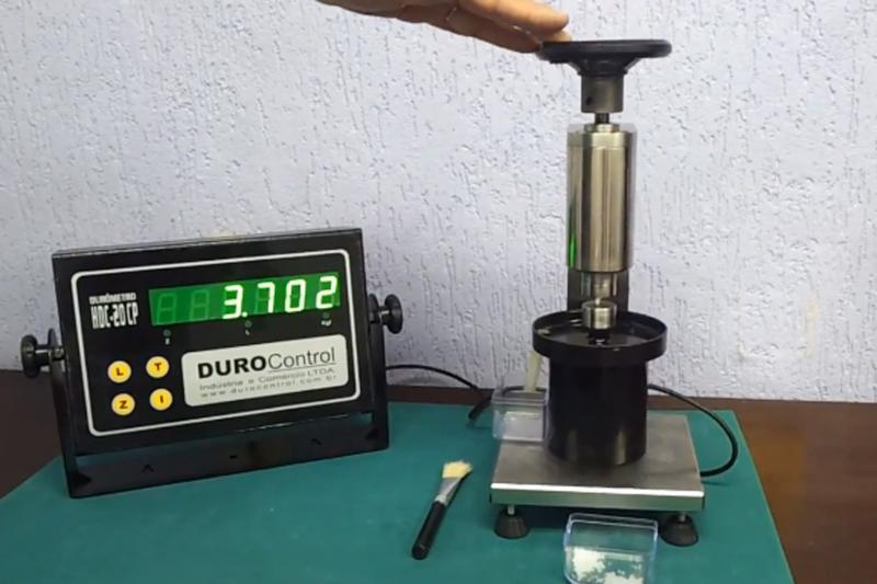 Durômetro para fertilizantes