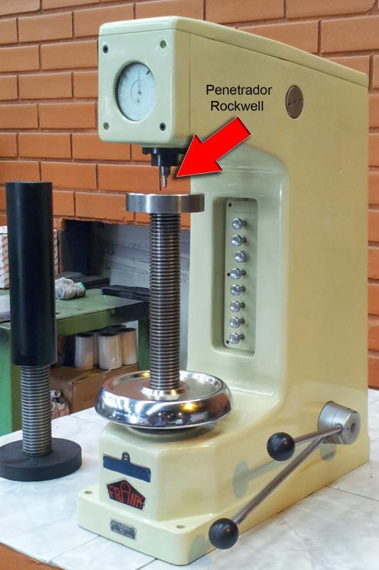 Penetrador de diamante para durômetro rockwell